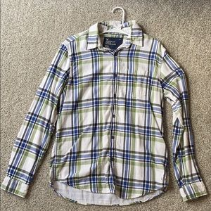 American Eagle Flannel Long sleeve Button Up Shirt